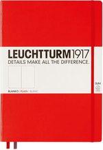 Блокнот Leuchtturm1917 MasterSlim Червоний Чисті аркуші (343314)