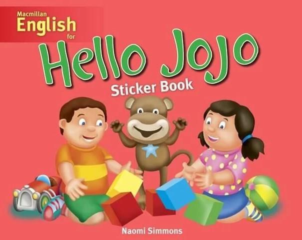 "Купить книгу ""Hello Jojo Sticker Book"""