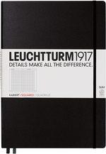 Блокнот Leuchtturm1917 MasterSlim Чорний Клітинка (310174)