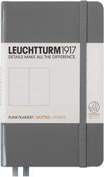Блокнот Leuchtturm1917 Карманный Антрацит Крапка (344778)