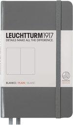 Блокнот Leuchtturm1917 Кишеньковий Антрацит Чисті аркуші (344779)