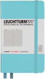 Блокнот Leuchtturm1917 Кишеньковий Бірюзовий Клітинка (338744)