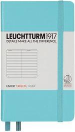 Блокнот Leuchtturm1917 Кишеньковий Бірюзовий Лінія (338732)
