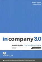 In company 3.0 Elementary Teacher's Book Premium Plus Pack