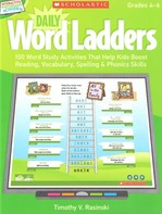 Interactive Whiteboard Activities: Daily Word Ladders Grades 4–6 with CD-ROM