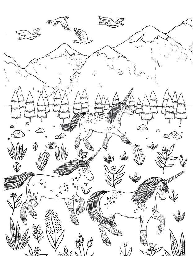 """Купить книгу """"Товариство «Магічний єдиноріг». Офіційна розмальовка"""""""