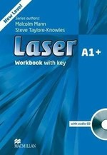 Laser 3rd Edition A1+ Workbook with key and audio CD