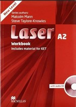 Laser 3rd Edition A2 Workbook without key with audio CD