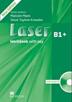 Laser 3rd Edition B1+ Workbook with key and audio CD