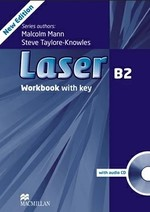 Laser 3rd Edition B2 Workbook with key and audio CD