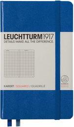 Блокнот Leuchtturm1917 Кишеньковий Королівський синій Клітинка (344750)