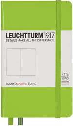 Блокнот Leuchtturm1917 Кишеньковий Лайм Чисті аркуші (338740)