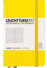 Блокнот Leuchtturm1917 Карманный Лимонный Клетка (344795)