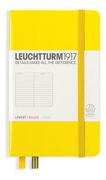 Блокнот Leuchtturm1917 Кишеньковий Лимонний Лінія (344794)