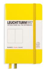 Блокнот Leuchtturm1917 Кишеньковий Лимонний Чисті аркуші (344797)