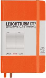Блокнот Leuchtturm1917 Кишеньковий Помаранчевий Лінія (342930)