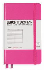 Блокнот Leuchtturm1917 Карманный Розовый Линия (339589)