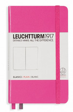 Блокнот Leuchtturm1917 Карманный Розовый Чистые листы (339597)
