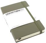 Блокнот Leuchtturm1917 Карманный Серо-Коричневый Чистые листы (339595)