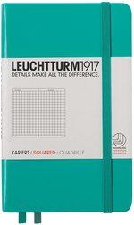 Блокнот Leuchtturm1917 Карманный Изумрудный Клетка (344787)