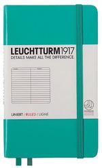 Блокнот Leuchtturm1917 Кишеньковий Смарагдовий Лінія (344786)