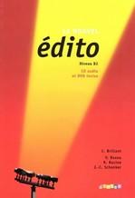 Le Nouvel Édito B2 Méthode de Français — Livre de l'élève avec CD audio et DVD