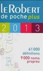 Le Robert de Poche Plus 2013