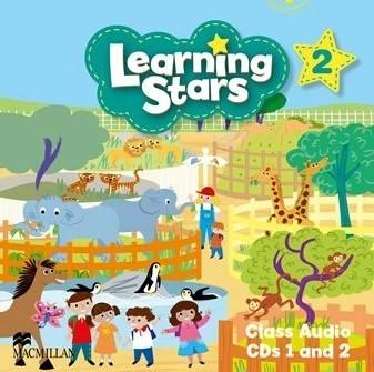 "Купить книгу ""Learning Stars 2 Class Audio CDs 1 and 2"""