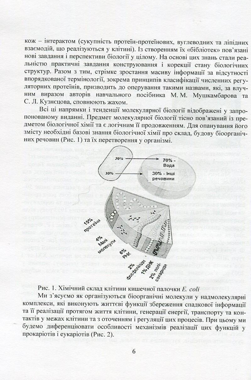 """Купить книгу """"Молекулярна біологія"""""""