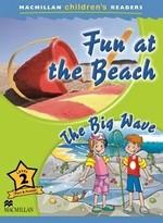 Fun at the Beach. The Big Wave