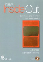 New Inside Out Advanced Workbook with key and Audio CD