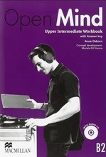 Open Mind British English Upper-Intermediate Workbook with key and Audio-CD