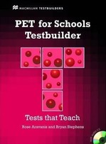 PET for Schools Testbuilder with key and Audio CD