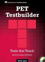 PET Testbuilder with key and Audio CD