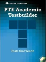 PTE Academic Testbuilder with key and Audio CDs