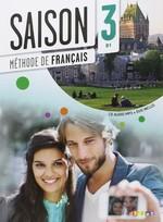 Saison 3 Méthode de Français — Livre de l'élève avec CD audio et DVD