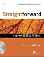 Straightforward Second Edition Beginner Workbook with key and Audio-CD