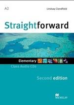 Straightforward Second Edition Elementary Class Audio CDs