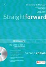 Straightforward Second Edition Elementary Teacher's Book with Student's eBook and Practice Online Access - купить и читать книгу