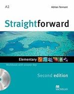 Straightforward Second Edition Elementary Workbook with key and Audio-CD