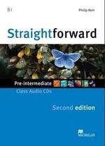 Straightforward Second Edition Pre-Intermediate Class Audio CDs