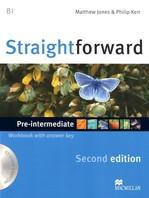 Straightforward Second Edition Pre-Intermediate Workbook with key and Audio-CD