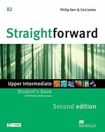 Straightforward Second Edition Upper-Intermediate Student's Book with Practice Online access