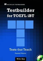 Testbuilder for TOEFL iBT with key and Audio CDs