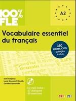 Vocabulaire essentielle du français — 100% FLE — A2 Livre avec CD mp3
