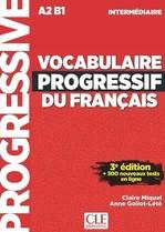 Vocabulaire Progressif du Français 3e Édition Intermédiaire Livre avec CD audio