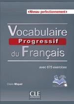 Vocabulaire Progressif du Français Perfectionnement Livre avec CD audio et Livre-web