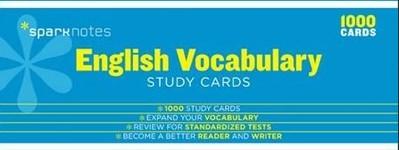 English Vocabulary Study Cards