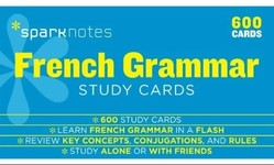 French Grammar Study Cards