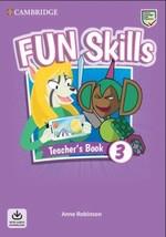 Fun Skills 3 Teacher's Book with Audio Download